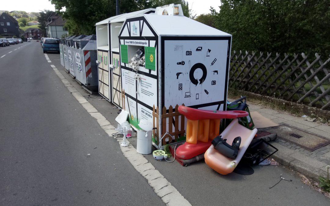 Wilde Müllkippen – Ein ständiges Ärgernis (Teil 2)